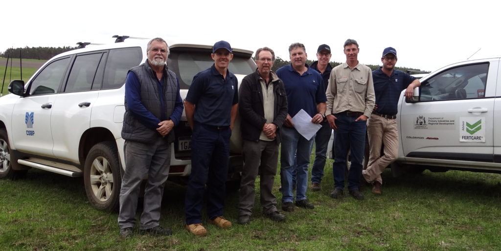 Some of the members of the Technical Working Group