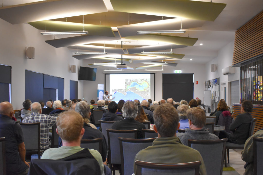 Malcolm Robb presenting at the Wilson Inlet Forum